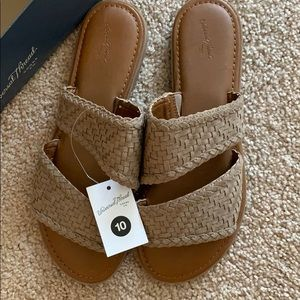 Taupe Sandals - NEVER WORN!